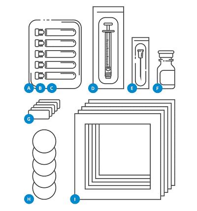 kit préparation stérile